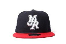 画像2: NEW ERA × MURAL × MJR BASEBALL CAP (NAVY) (2)