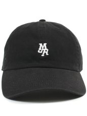 画像2: MJR MINI LOGO CAP (BLACK) (2)