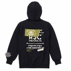 """画像3: """"RSC products × 3 THE HARDWAY XX"""" HOODY (3)"""