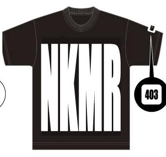 画像1: NKMR×HEYZ T-shirts BLACK (1)