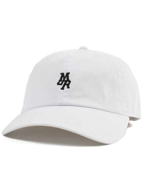 画像1: MJR MINI LOGO CAP (WHITE) (1)