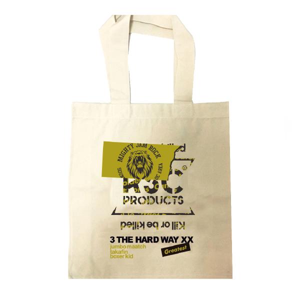 """画像1: """"RSC products × 3 THE HARDWAY XX"""" TOTE BAG Natural (1)"""